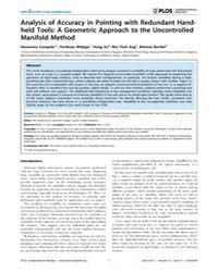 Plos Computational Biology : Analysis of... by Campolo, Domenico