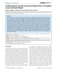 Plos Computational Biology : Trading Spe... by Standage, Dominic