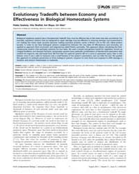 Plos Computational Biology : Evolutionar... by Szekely, Pablo