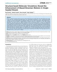 Plos Computational Biology : Structure-b... by Kanada, Ryo