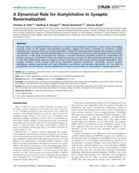 Plos Computational Biology : a Dynamical... by Fink, Christian, G.