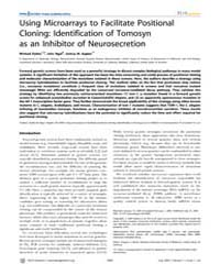 Plos Genetics : Using Microarrays to Fac... by Barsh, Gregory S.