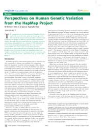 Plos Genetics : Perspectives on Human Ge... by Spencer, Chris C. A.