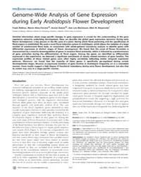 Plos Genetics : Genome-wide Analysis of ... by Ecker, Joseph
