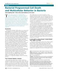 Plos Genetics : Bacterial Programmed Cel... by Rosenberg, Susan