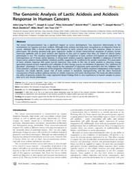 Plos Genetics : the Genomic Analysis of ... by Gibson, Greg