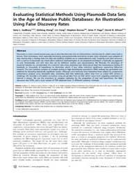 Plos Genetics : Evaluating Statistical M... by Gibson, Greg
