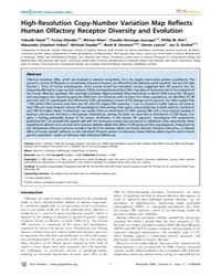 Plos Genetics : High-resolution Copy-num... by Orr, Harry