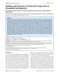 Plos Genetics : the Neural Crest Nc is a... Volume 4 by Steensel, Bas Van