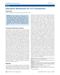 Plos Genetics : Alternative Mechanisms f... by Rosenberg, Susan M.