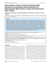 Plos Genetics : New Evidence Confirms Th... by Larsson, Nils-goran