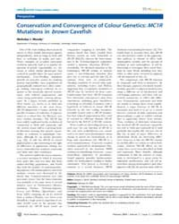 Plos Genetics : Conservation and Converg... by Barsh, Gregory S.