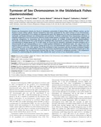 Plos Genetics : Turnover of Sex Chromoso... by Mank, Judith E.