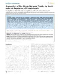 Plos Genetics : Attenuation of Zinc Fing... by Barsh, Gregory S.
