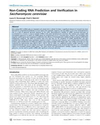 Plos Genetics : Non-coding Rna Predictio... by Hayashizaki, Yoshihide