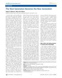 Plos Genetics : the Next Generation Beco... by Richardson, Paul M.