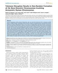 Plos Genetics : Telomere Disruption Resu... by Copenhaver, Gregory P.