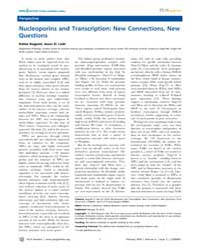 Plos Genetics : Nucleoporins and Transcr... by Bickmore, Wendy A.