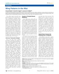 Plos Genetics : Wing Patterns in the Mis... by Nachman, Michael W.