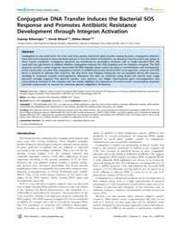 Plos Genetics : Conjugative Dna Transfer... by Matic, Ivan