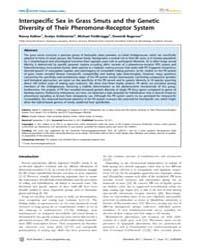 Plos Genetics : Interspecific Sex in Gra... by Heitman, Joseph