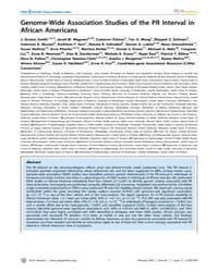 Plos Genetics : Genome-wide Association ... by Visscher, Peter M.