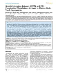 Plos Genetics : Genetic Interaction Betw... by Cox, Gregory A.