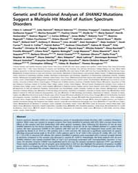 Plos Genetics : Genetic and Functional A... by State, Matthew