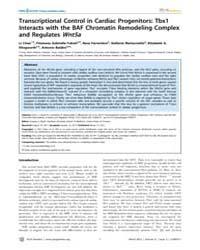 Plos Genetics : Transcriptional Control ... by Barsh, Gregory S.