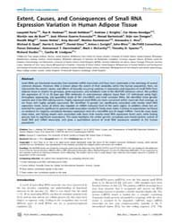 Plos Genetics : Extent, Causes, and Cons... by Copenhaver, Gregory P.