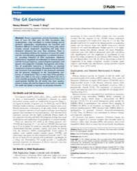 Plos Genetics : the G4 Genome, Volume 9 by Rosenberg, Susan M.