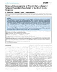 Plos Genetics : Neuronal Reprograming of... by Aballay, Alejandro