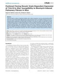 Plos Genetics : Positional Cloning Revea... by Frankel, Wayne N.