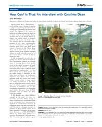 Plos Genetics : How Cool is That ; an In... by Jane Gitschier