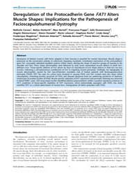 Plos Genetics : Deregulation of the Prot... by Cox, Gregory A.