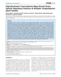 Plos Genetics : High-resolution Transcri... by Hughes, Diarmaid