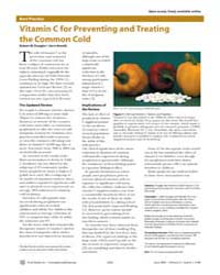 Plos Medicine : Vitamin C for Preventing... by Douglas, Robert, M.