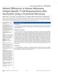 Plos Medicine : Marked Differences in Hu... by Chen, Daniel, S.