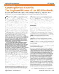 Plos Medicine : Cytomegalovirus Retiniti... by Heiden, David