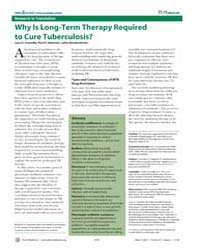 Plos Medicine : Why is Long-term Therapy... by Connolly, Lynn, E.