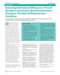 Plos Medicine : Assessing Antimalarial E... by Guthmann, Jean-paul