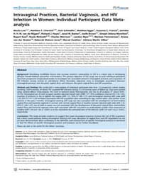 Plos Medicine : Intravaginal Practices,b... by Low,nicola