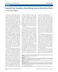 Plos Medicine : Beyond the Numbers ; Des... by Barbour, Virginia