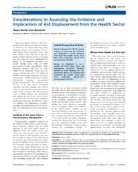 Plos Medicine : Considerations in Assess... by Batniji, Rajaie