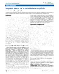 Plos Neglected Tropical Diseases : Magne... by Jones, Malcolm, K.