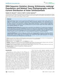 Plos Neglected Tropical Diseases : Dna-s... by Blair, David