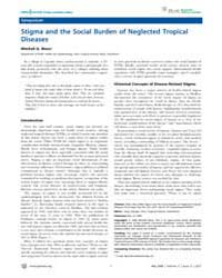 Plos Neglected Tropical Diseases : Stigm... by Utzinger, Juerg