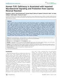 Plos Neglected Tropical Diseases : Human... by Correa-oliveira, Rodrigo
