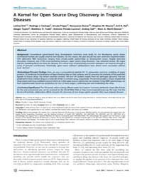 Plos Neglected Tropical Diseases : a Ker... by Geary, Timothy, G.