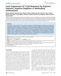 Plos Neglected Tropical Diseases : Local... by Jaffe, Charles